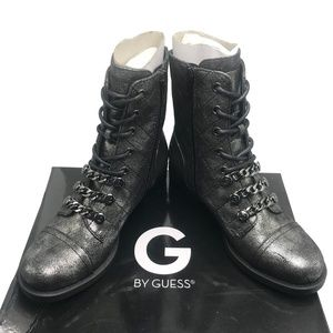 G by GUESS MEERA Combat Booties size: 6, 6.5